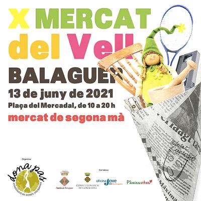 X Mercat del Vell, BAlaguer, 2021