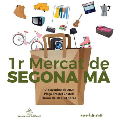 Mercat de Segona Mà, El Morell, 2021