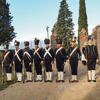 Associació Cultural Gironina de Recreació Històrica Miqueletsde Girona, recreació històrica, 1810