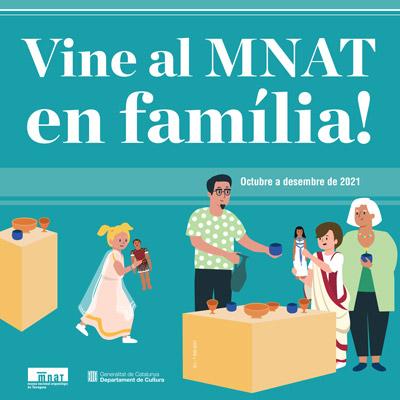 Cicle 'Vine al MNAT en família!', Tarragona, 2021