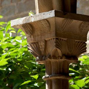 Capitell del claustre del Monestir de Pedralbes