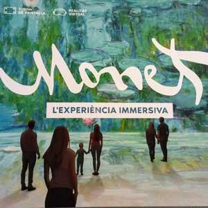 Exposició 'Monet, l'experiència immersiva' - Barcelona 2019