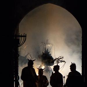 Espectacle Dracum Nocte, Setmana Medieval de Montblanc, 2020
