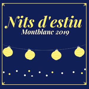 Nits d'estiu a la fresca a Montblanc, 2019