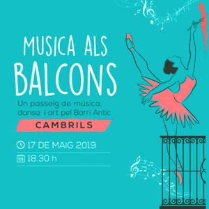 Música als Balcons al Barri Antic de Cambrils, 2019