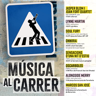 Cicle 'Música al Carrer', Tarragona, 2021