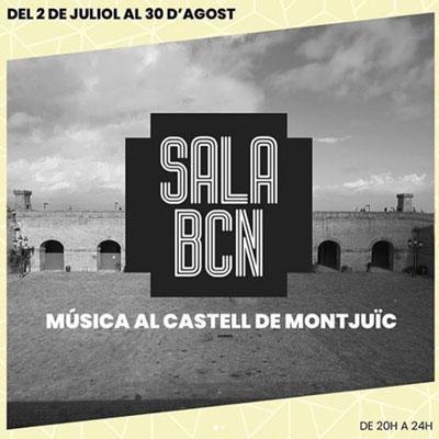 Sala Barcelona, Concerts al Castell de Montjuïc, 2020