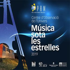 Música Sota les Estrelles, Àger, 2019