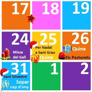 Nadal a Sant Gregori, 2019, 2020