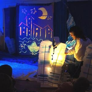 Espectacle 'Aquarel·la' de la Cia. Fes-t'ho com vulguis