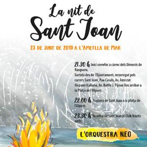 La nit de Sant Joan - L'Ametlla de Mar 2019