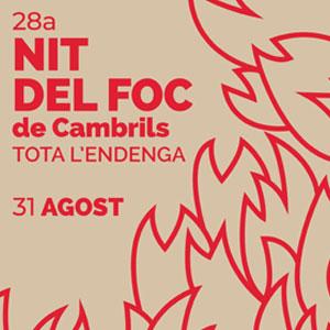 29a Nit del Foc a Cambrils, 2019