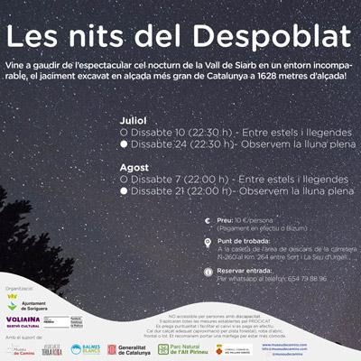 Les nits al Despoblat, Museu de Camins, 2021