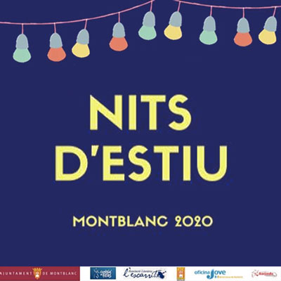 Cicle 'Nits d'Estiu' a Montblanc, 2020