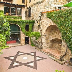 Call de Girona, pati
