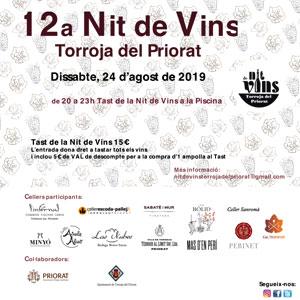 12ª Nit de Vins a Torroja del Priorat, 2019
