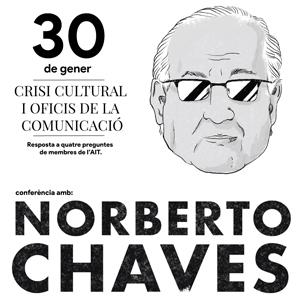 Conferència 'Crisis cultural y oficios en la comunicación', a càrrec de Norberto Chaves