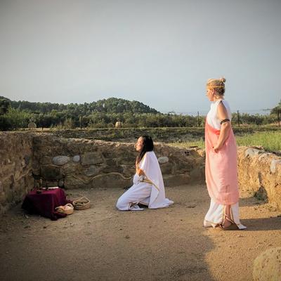Visita teatralitzada 'Nuptialis' a la Vil·la romana de Vilauba, Banyoles