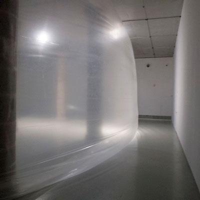 Instal·lació 'Ona' de Sergio Prego a La Panera, Lleida