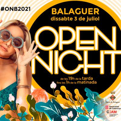 Open Night Balaguer, 2021