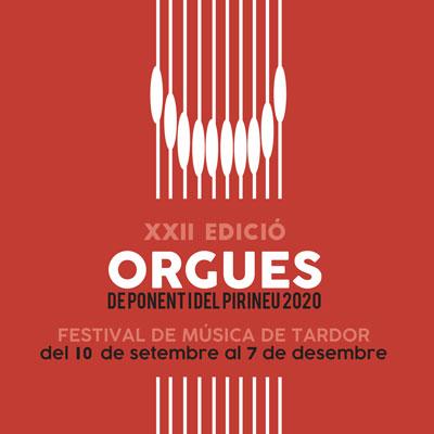 Festival de Música de Tardor Orgues de Ponent i del Pirineu, 2020