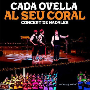 Concert 'Cada ovella al seu corral' a càrrec de la Coral Maristes Montserrat i dels Pastorets Rock