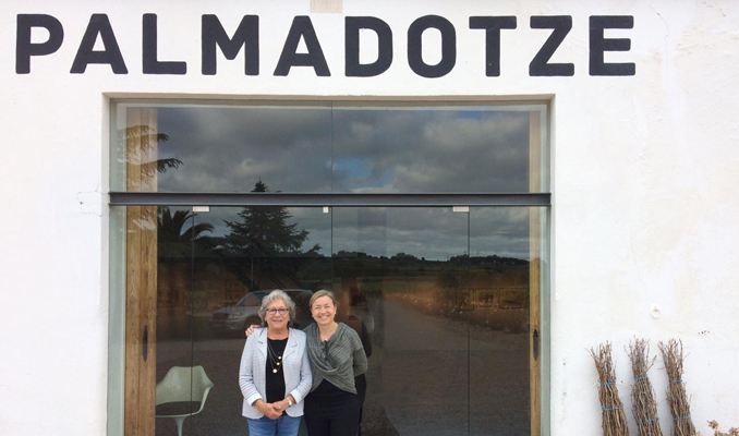 Pilar Carbonell i Anna Rovira a Palmadotze