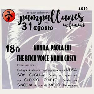Festivart Pampallunes en femení a Aspa, 2019