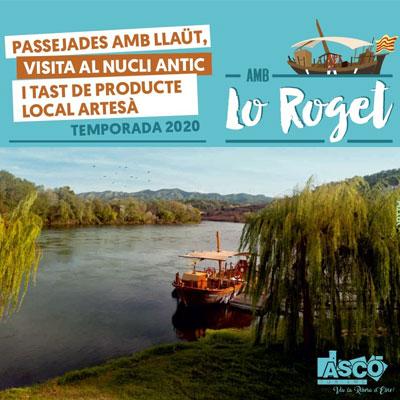 Passejades turístiques - Ascó 2020