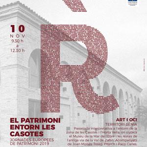 El patrimoni entorn les Casotes - La Ràpita 2019