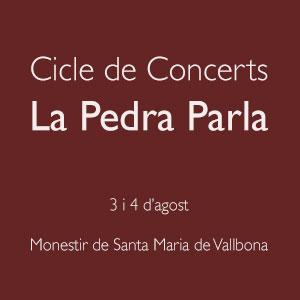 Cicle de Concerts La Pedra Parla, 2019