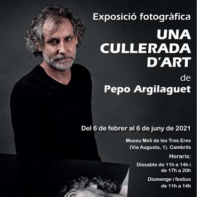 Expocisió 'Una cullerada d'art' de Pepo Argilaguet, 2021