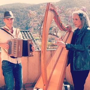 Perepau Ximenis i Josep Maria Ribelles, músics