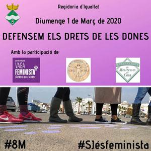 Acte 'Defensem els drets de les dones' - Sant Jaume d'Enveja 2020