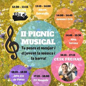 II Picnic Musical a Celrà, 2019
