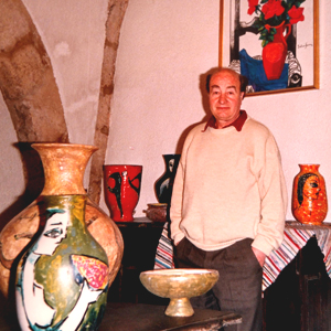 Pintor cubista Maties Palau Ferré (Montblanc, 1921-2000)