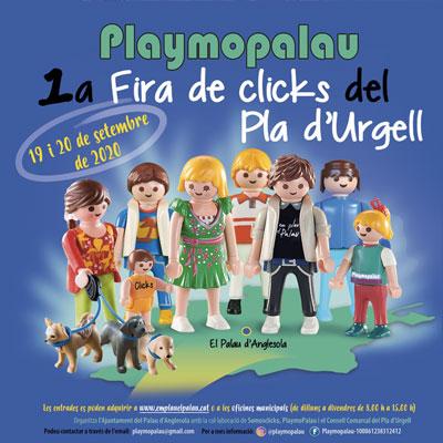 Fira de clicks del Pla d'Urgell al Palau d'Anglesola, 2020