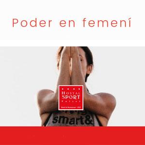 Poder en femení - Hotel-Hostal Sport Falset 2019