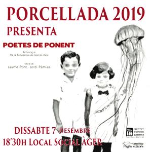 Recital poètic 'Porcellada' a Àger, 2019