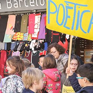 Espectacle familiar 'Piscina poètica' a Girona, 2020