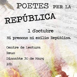 Poetes per la República a Reus