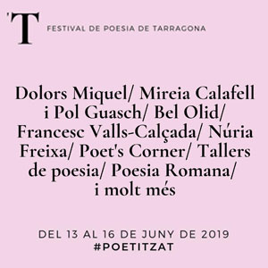 Festival Poetitza't a Tarragona, 2019