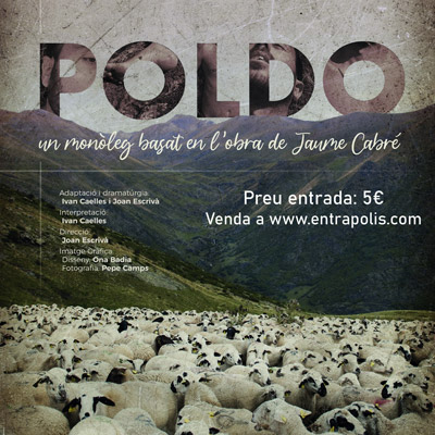 Teatre 'Poldo', monòleg d'Ivan Caelles i Joan Escrivà