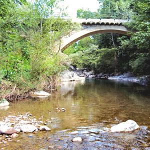 Pont del riu Flamisell, Pobla de Segur
