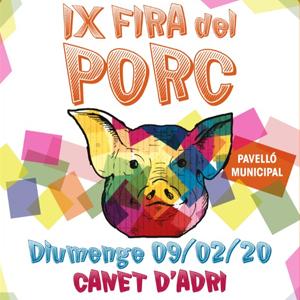 IXa edició de la Fira del Porc de Canet d'Adri, 2020