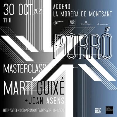 Porró Masterclass, ADDEND, 2021