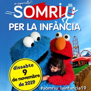 Festa 'Somriu per la infància' a Port Aventura, 2019