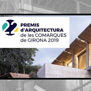 22a edició delsPremis d'Arquitectura de les Comarques de Girona, 2019
