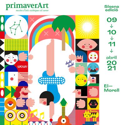 PrimaverArt, mostra d'arts escèniques al carrer, 2021