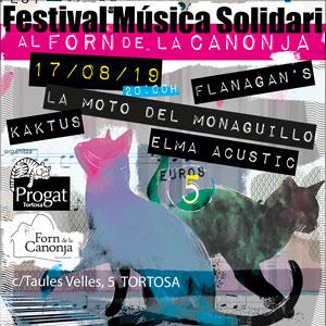 Festival de Música Solidari - Progat Tortosa 2019